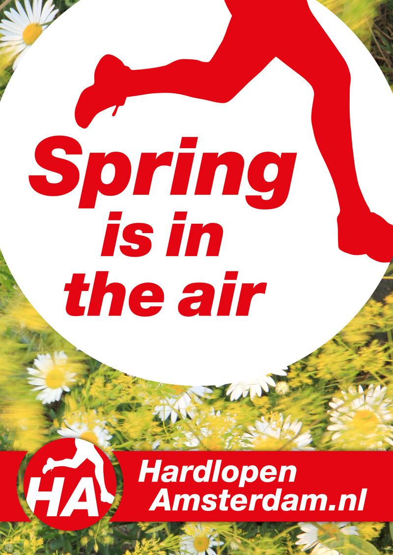Affiche 'Spring is in the air'